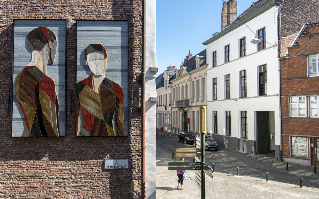 Kunst is nooit ver weg: nieuwe installatie van Strook